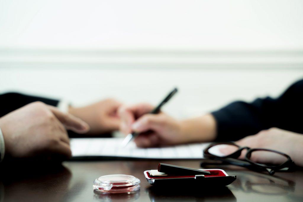 契約締結日と契約書の効力発生日を変える方法